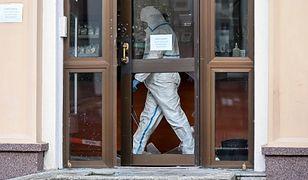 Olsztyn. Policja zatrzymała osobę związaną z napadem na kantor