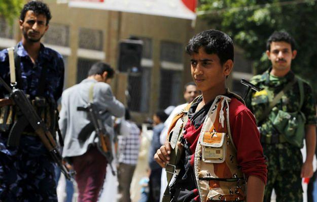 W Jemenie dzieci stanowią jedną trzecią wszystkich żołnierzy