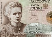 Maria Skłodowska-Curie ponownie na banknocie