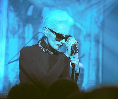 Olga Jackowska (Kora) na koncercie w 2011 roku