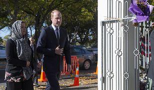 Książę William pojawił się na miejscu zamachów w Nowej Zelandii