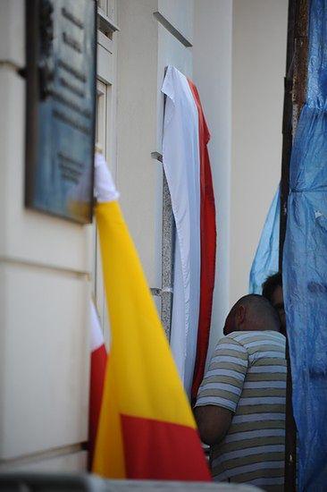 Partyzantka pod Pałacem Prezydenckim - zdjęcia