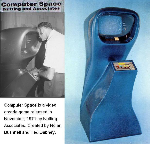 Computer Space w wersji dla jednego gracza.