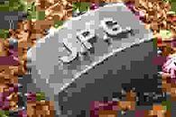 Jak wygląda JPEG po 100 000 rekompresji? - Poziom jakości 1%, widoczne artefakty