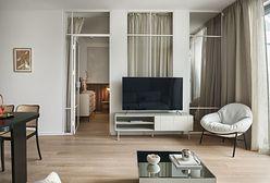 Piękne mieszkanie w Gdańsku od Inbalance. Z balkonu można podziwiać Bazylikę Mariacką