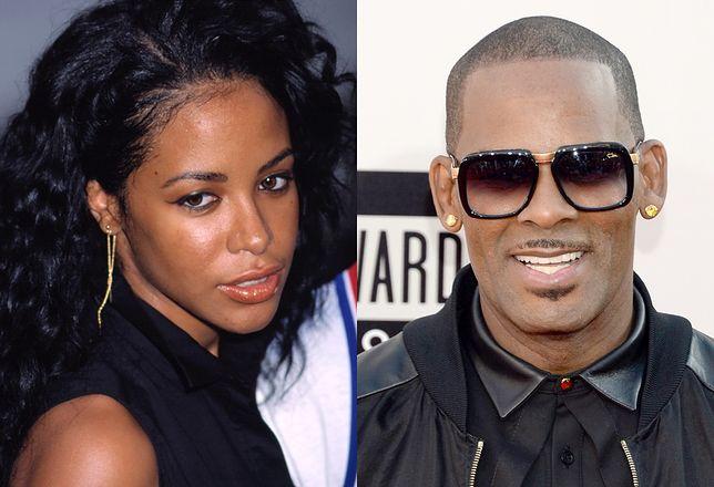 Poznali się, gdy Aaliyah miała 12 lat