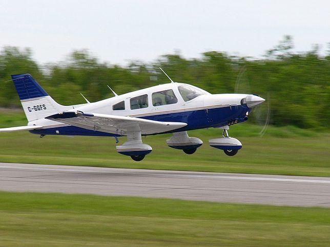 Samolot Piper PA-28 Cherokee. Zdjęcie ilustracyjne.