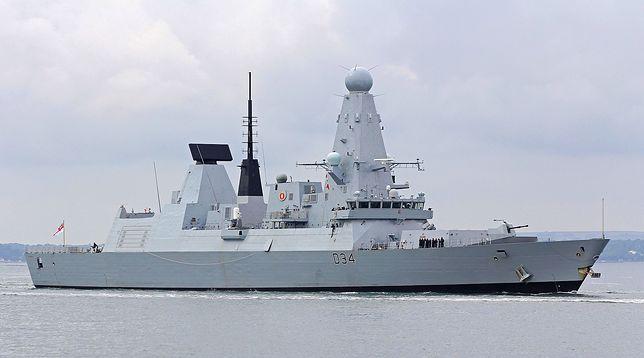 HMS Diamond D34 w Gdyni. Będzie można wejść na pokład brytyjskiego niszczyciela