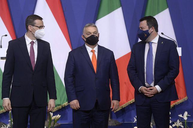 Donald Tusk komentuje wizytę Morawieckiego w Budapeszcie