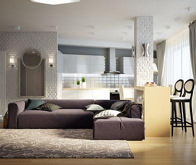Jeśli posiadasz salon o sporej powierzchni, ze spokojem możesz wybrać kanapę z rozmachem.