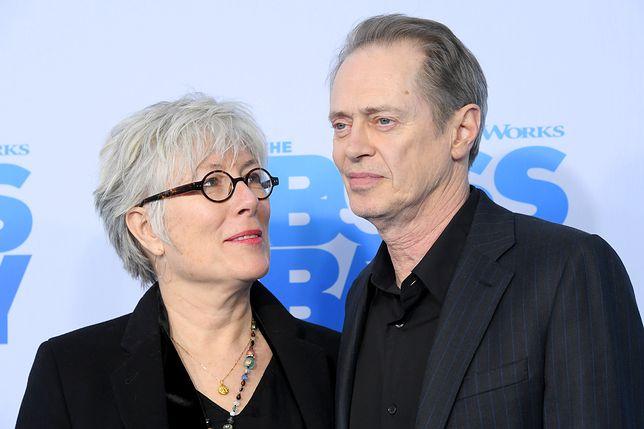 Steve Buscemi z żoną