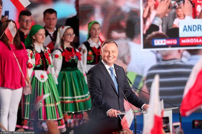 Andrzej Duda zdobył najwięcej głosów w I turze wyborów prezydenckich.