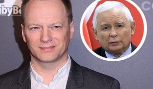 """""""Zagadka z dedykacją dla Jarka!"""". Maciej Stuhr komentuje wystąpienie Kaczyńskiego"""