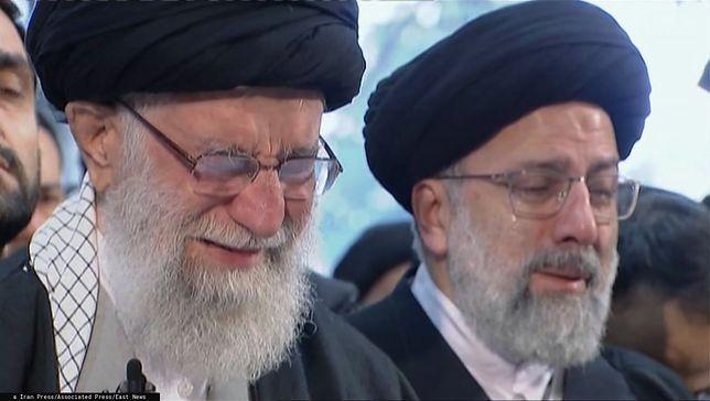 Iran. Pogrzeb generała Kasima Sulejmaniego. Ajatollah Ali Chamanei płakał