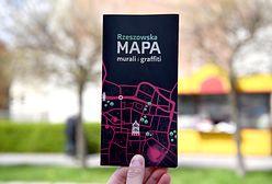 Rzeszów. Lokalne graffiti na mapie