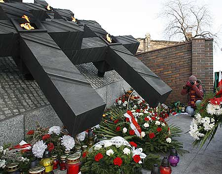 """Obchody 25. rocznicy pacyfikacji kopalni """"Wujek"""""""