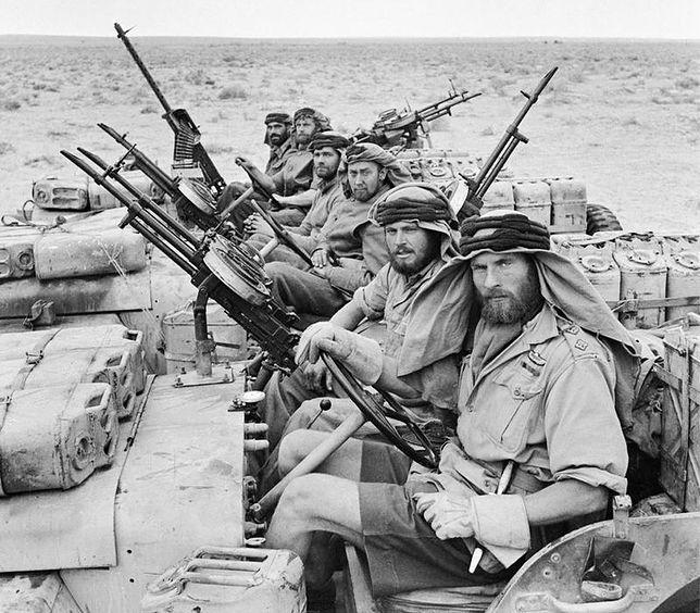 Patrol Special Air Service w Afryce Północnej, po powrocie z trzymiesięcznego (!) patrolu. 18 stycznia 1943 r.