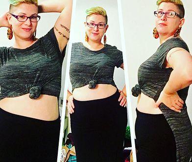 Po ciąży i z nadwagą. Internautki łamią tabu i pokazują brzuchy