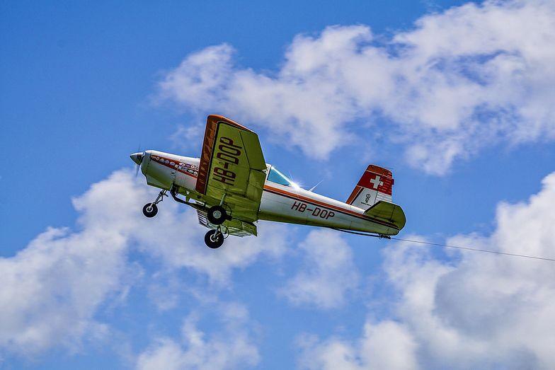 W Warszawie rozbił się niewielki samolot (zdjęcie ilustracyjne)