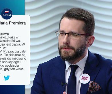 Koronawirus. Specjalne posiedzenie Sejmu. Radosław Fogiel komentuje