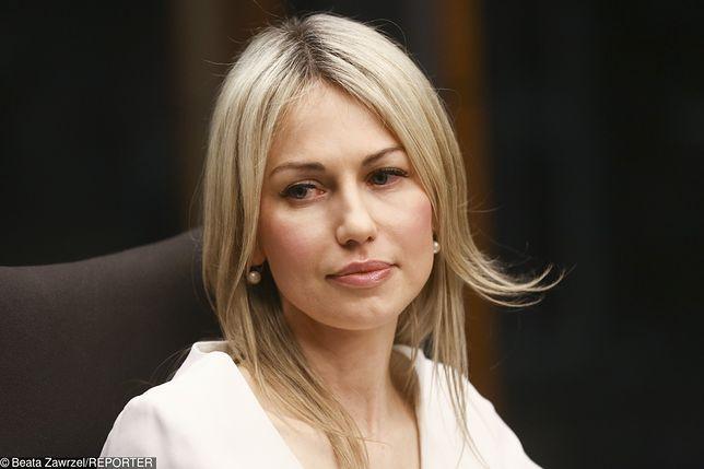 W sobotę dziennikarka Magdalena Ogórek nie mogła odjechać sprzed siedziby TVP Info