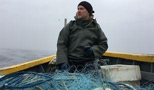 Paweł Dominik jest jednym z ostatnich rybaków w Dębkach