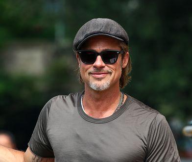 Brad Pitt pokazał nowy tatuaż