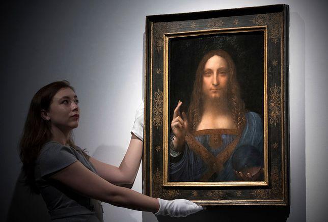"""""""Salvator Mundi"""" Leonarda da Vinci został kupiony w 2017 r. za 1,72 mld zł"""