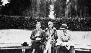 Od prawej: agent polskie wywiadu Jerzy Sosnowski, zwerbowana agentka Benita von F.