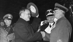 Mołotow i Ribbentrop w Berlinie, 1940 r.