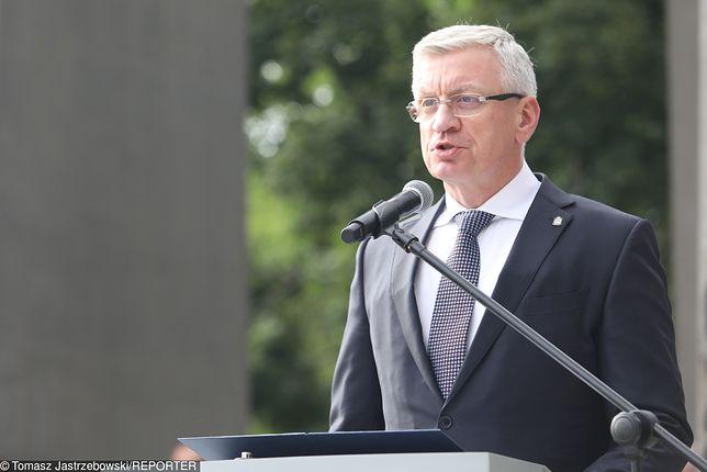 Prezydent Poznania Jacek Jaśkowiak podczas obchodów rocznicy Poznańskiego Czerwca '56