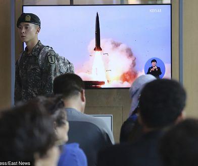 Korea Północna. Pocisk wystrzelony w niedzielę