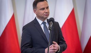 """Andrzej Duda przyznał, że """"pracuje"""" przy sprawie"""