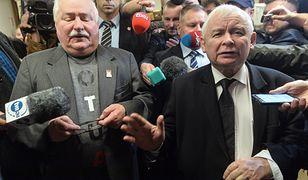 """""""NZZ"""" nakreśla konflikt między Wałęsą a Kaczyńskimi"""