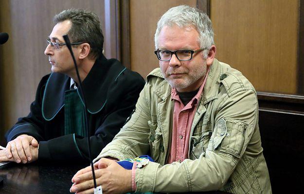 Artur Domosławski w sądzie w 2015 r.