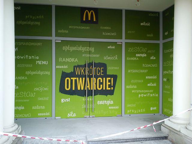 Nowy McDonald na Świętokrzyskiej