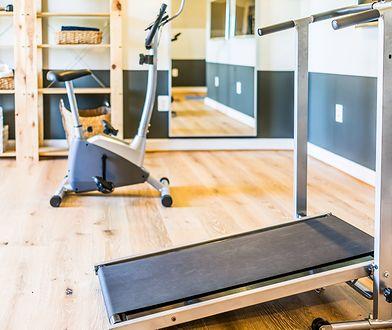 Domowa siłownia pozwala na trenowanie niezależnie od dnia i godziny