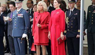 Brigitte Macron i księżna Danii ubrane tak samo. Zrobili im zdjęcia