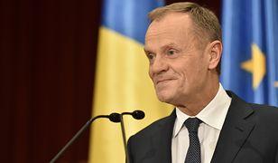 Donald Tusk przemawiał po rumuńsku