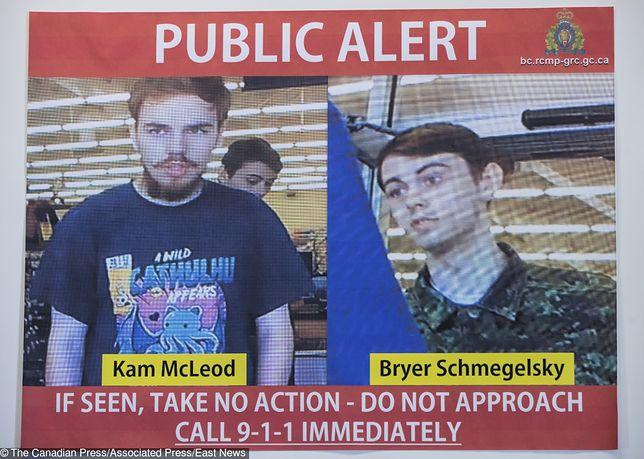 Kanada. Policja odkryła ciała dwóch mężczyzn - to prawdopodobnie Kam McLeod oraz Bryer Schemegelsky