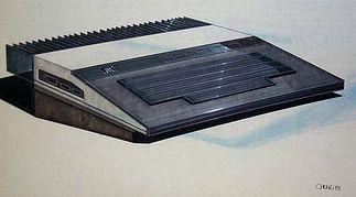 Koncepcja Atari 1200 z radiatorem z tyłu obudowy. Rys. Regan Chang.