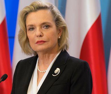 Anna Maria Anders bardziej oszczędna. 74 tys. zł na podróże służbowe