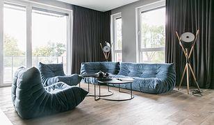 Apartament w Poznaniu. Minimalizm z niebem w tle