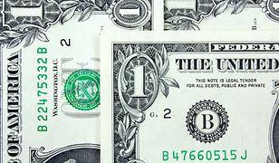 Dane z rynku pracy mają duży wpływ na notowania dolara.