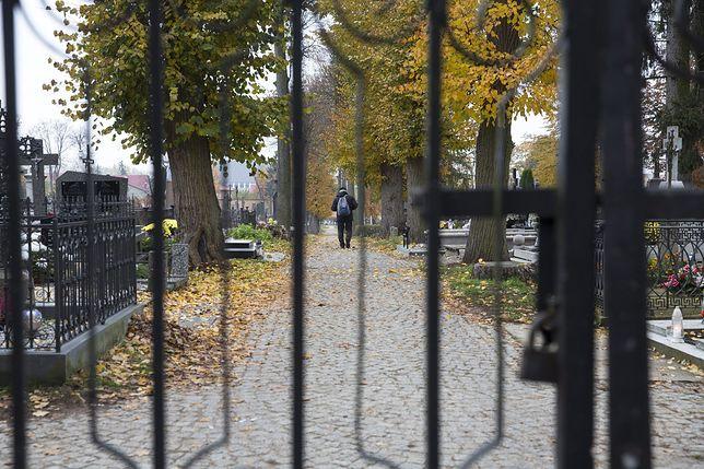Wszystkich Świętych 2020. Zatrzymano mężczyzn, którzy niszczyli bramy cmentarne [zdj. ilustracyjne]