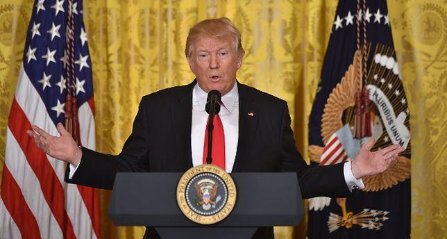 Donald Trump przedstawia swój program Kongresowi