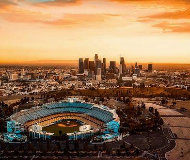 American dream i słoneczna Kalifornia w lutym