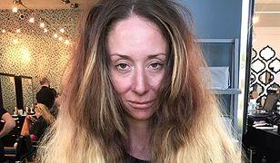 Jej włosy wyglądały jak stóg siana. Metamorfoza, którą przeszła, zwala z nóg!