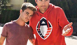 Ashton Kutcher i chłopak, którego potrącił