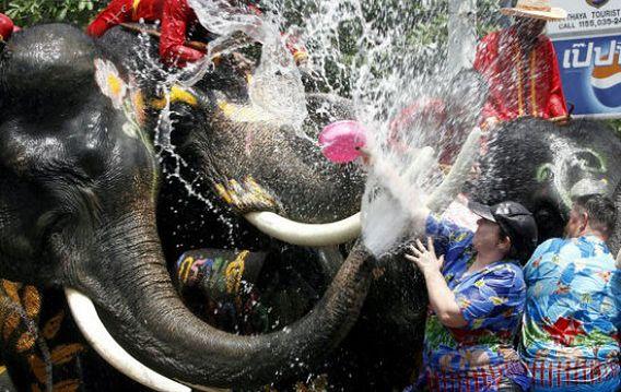 Tajski Nowy Rok (Songkran)